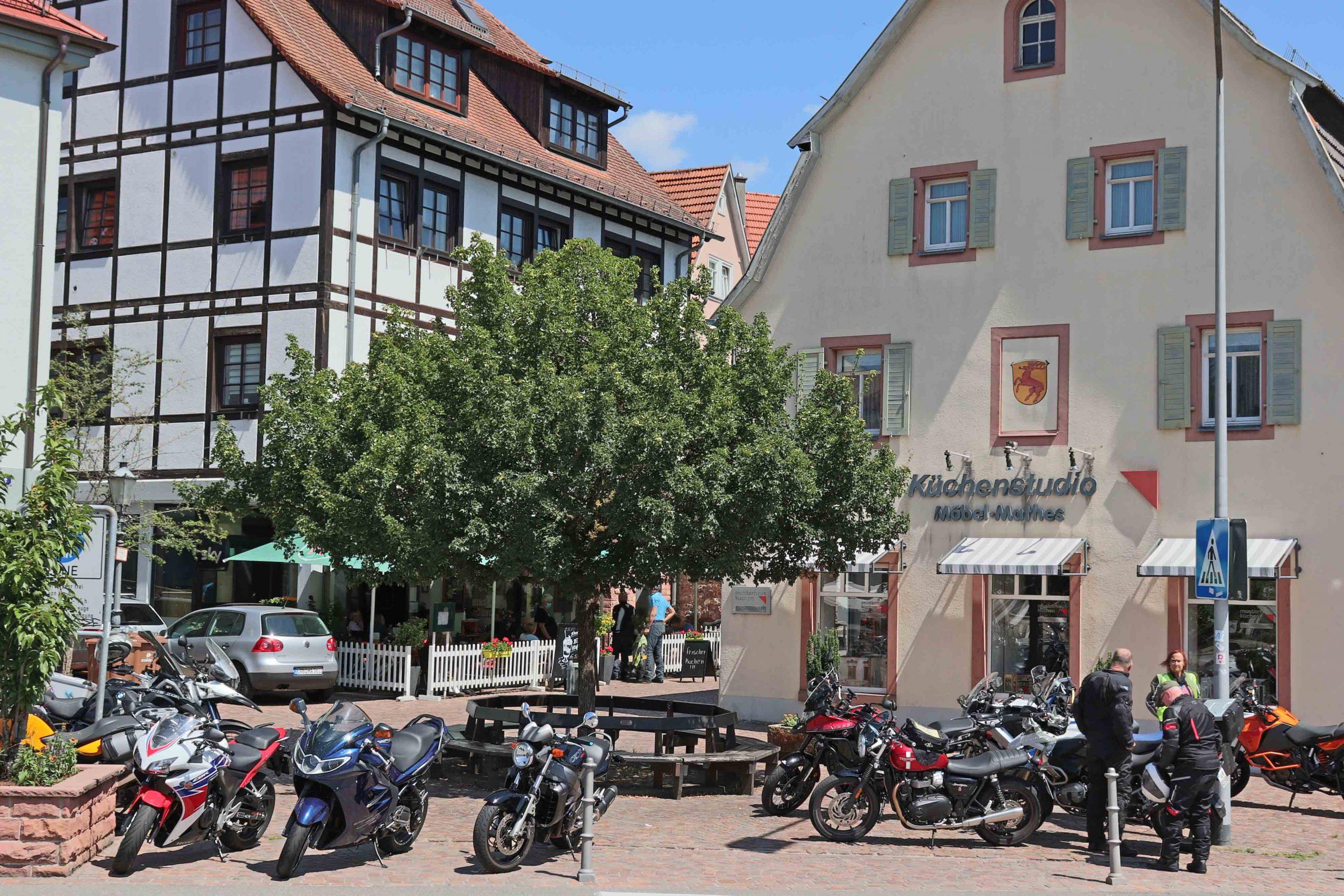 Hirschhorn historische Altstadt